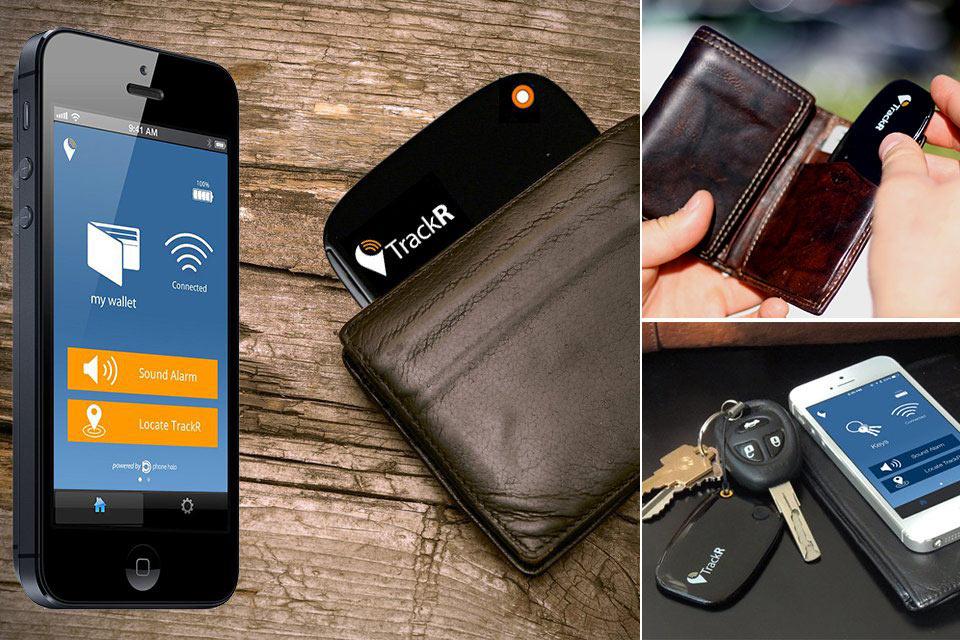 Следящее устройство Wallet TrackR для кошелька и других личных вещей