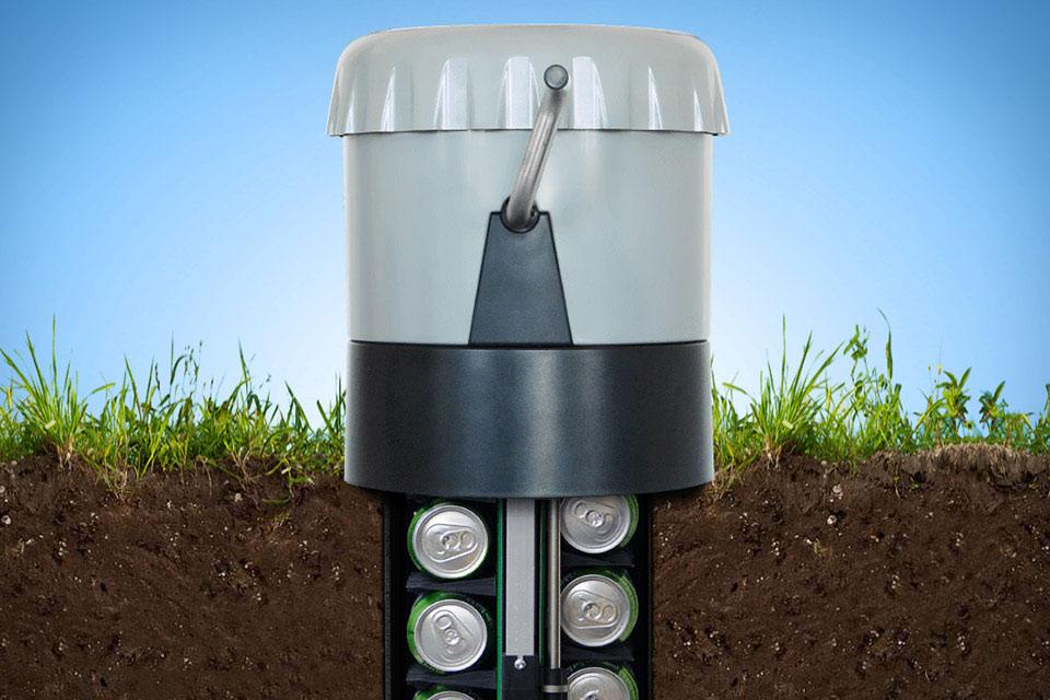 Микропогреб Earth Cooler для баночного пива