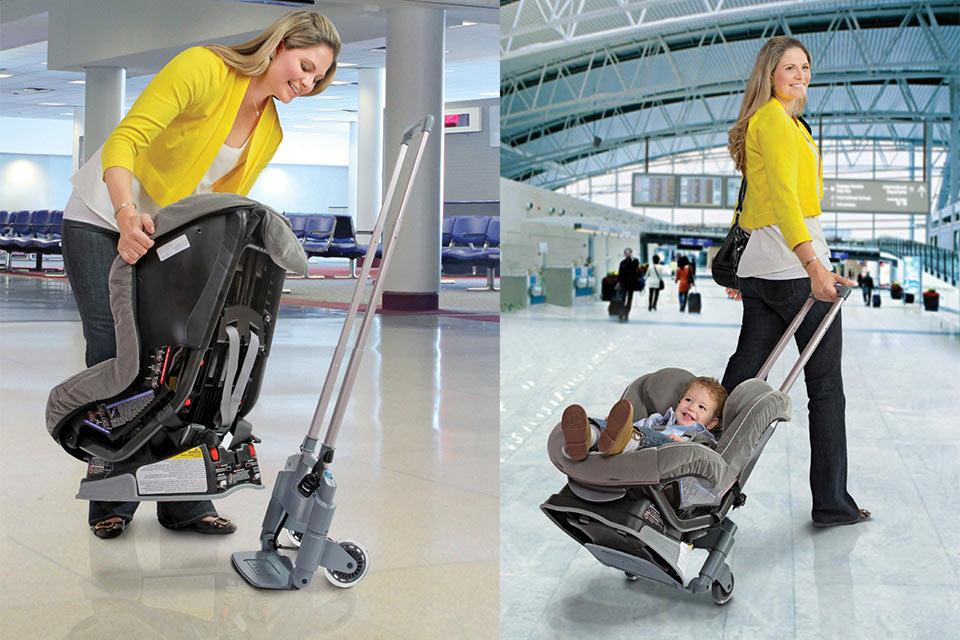 Тележка Brica Roll 'n Go для превращения детского автомобильного сиденья в коляску