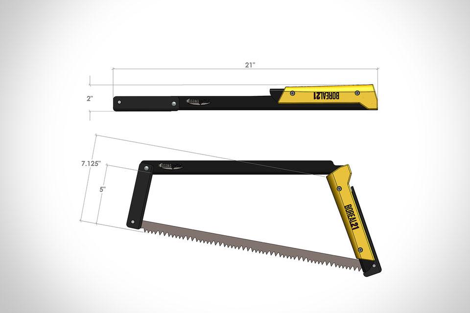 Складная ножовка Compact Folding Bow Saw