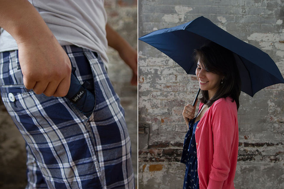 Зонт 98g Light Umbrella весом в 98 грамм