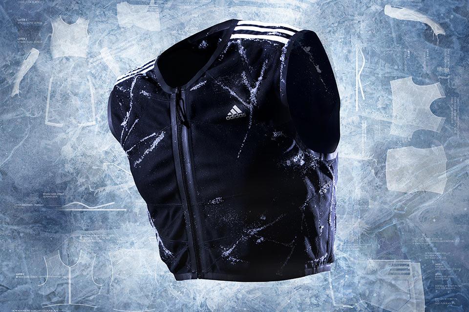 Охлаждающий жилет Adidas adiPower для футболистов