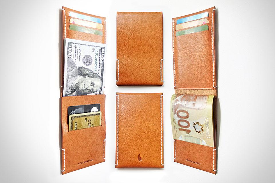 Минималистичный кошелек Arkän в формате традиционного бумажника