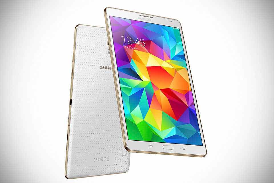Тонкие флагманские планшеты Samsung Galaxy Tab S