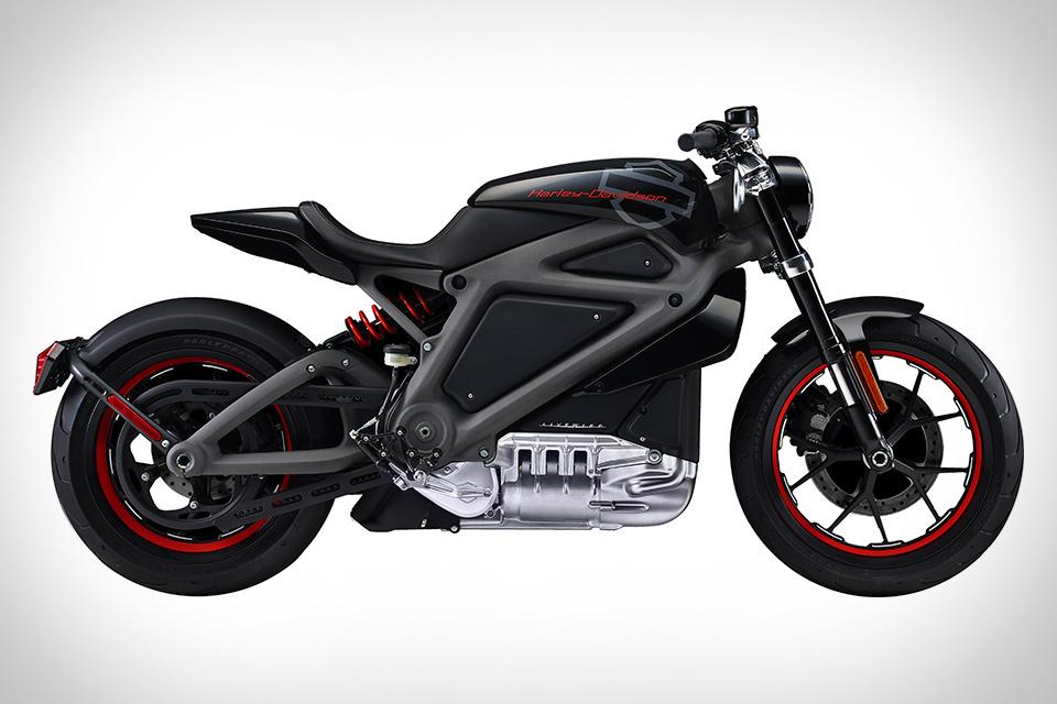 Электроцикл Harley-Davidson Livewire