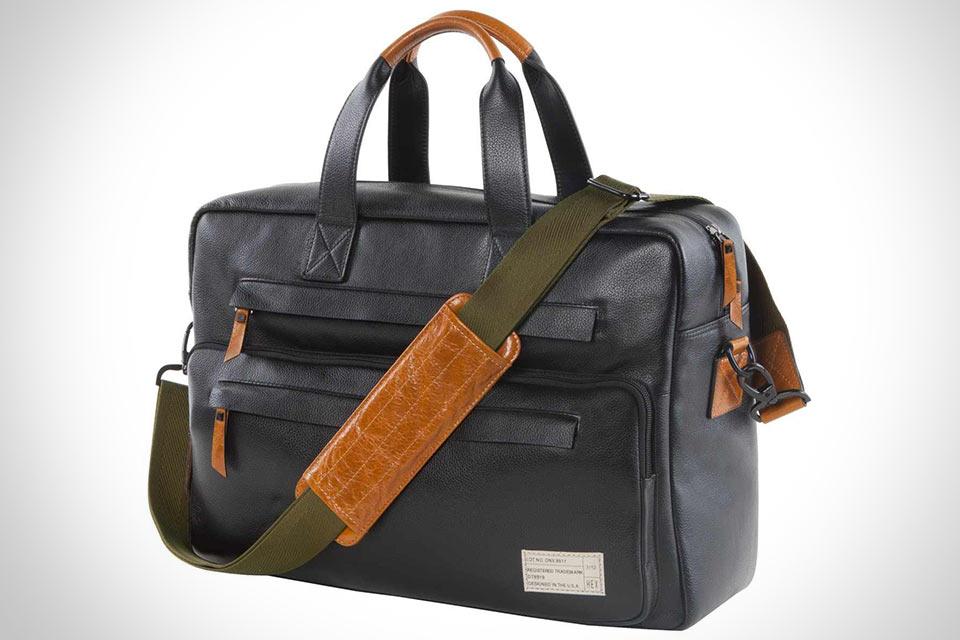Классическая кожаная сумка Marquee для лэптопа