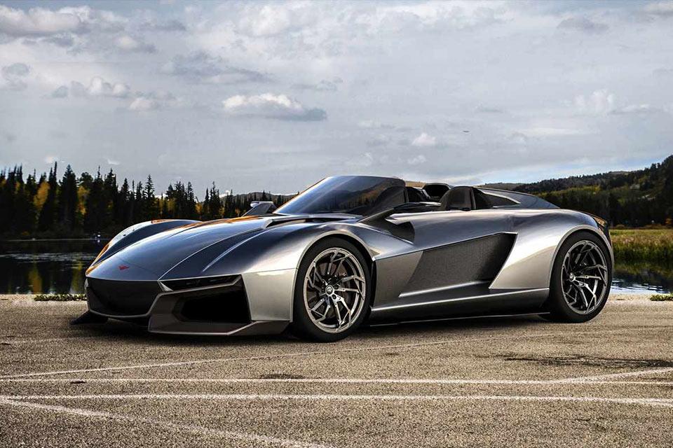 Калифорнийский бездверный суперкар Rezvani Motors Beast