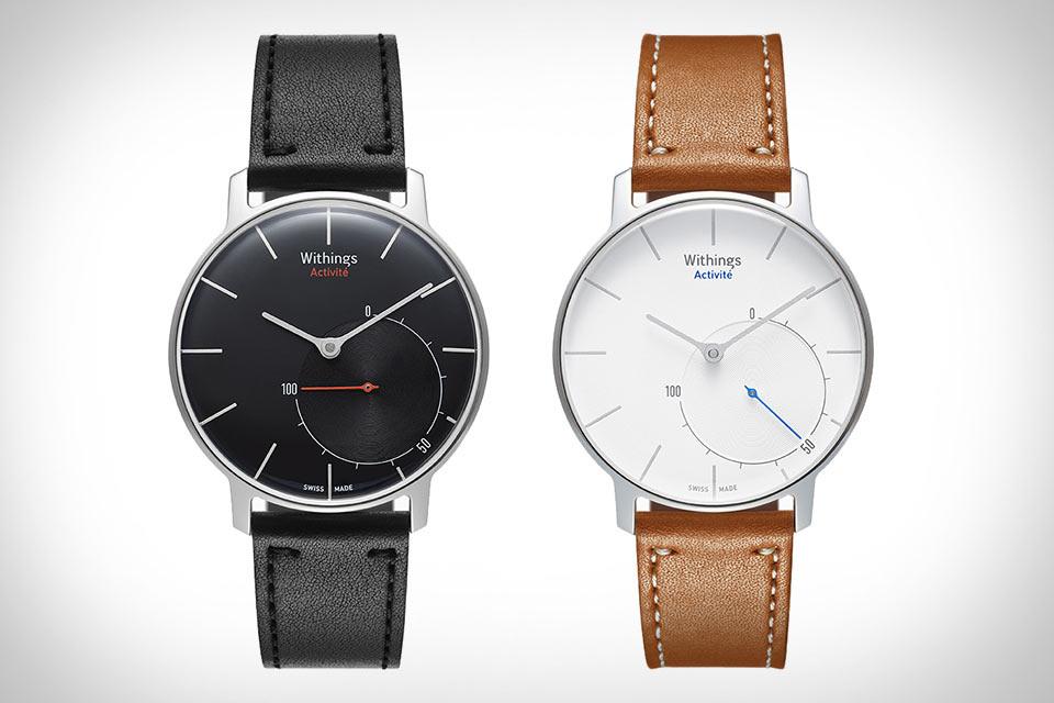 Швейцарские часы Withings Activite со встроенным трекером физической активности