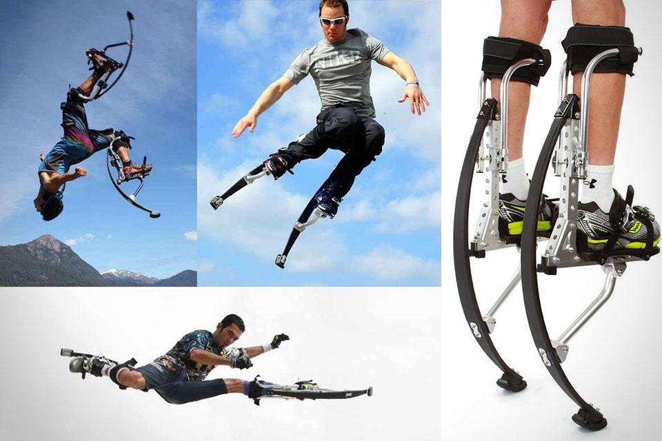 Джамперы Air Trekker для трехметровых прыжков