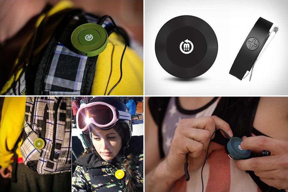 Миниатюрный Bluetooth-адаптер ClipR для наушников