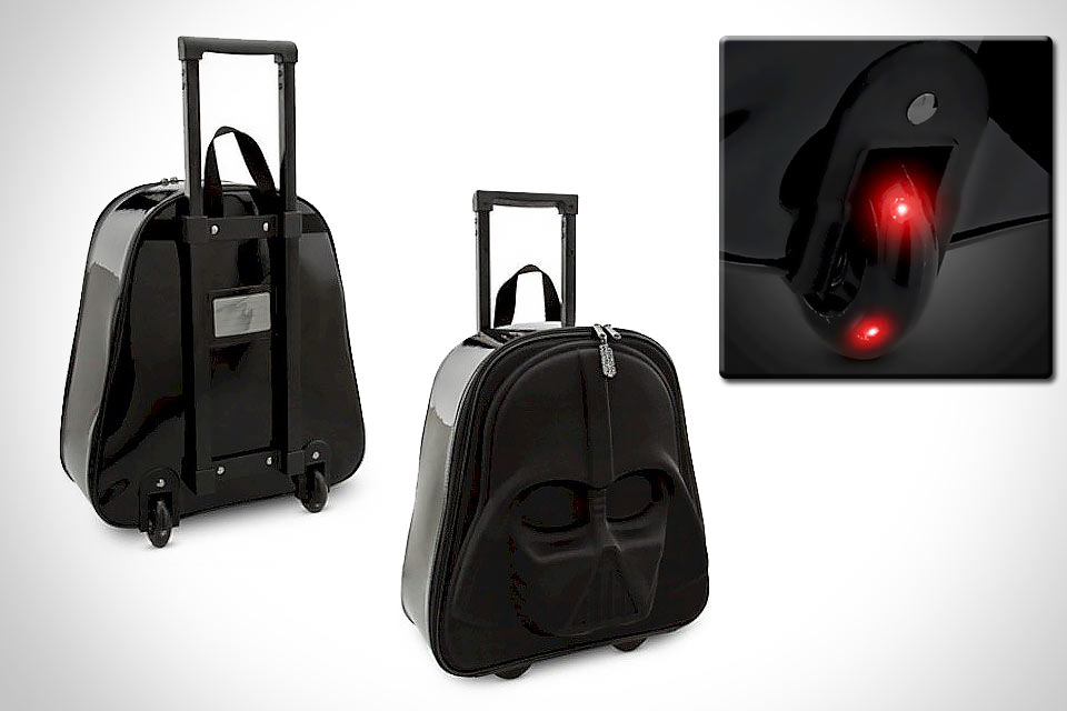Чемодан на колесах Darth Vader Rolling Luggage для фанатов «Звездных войн»