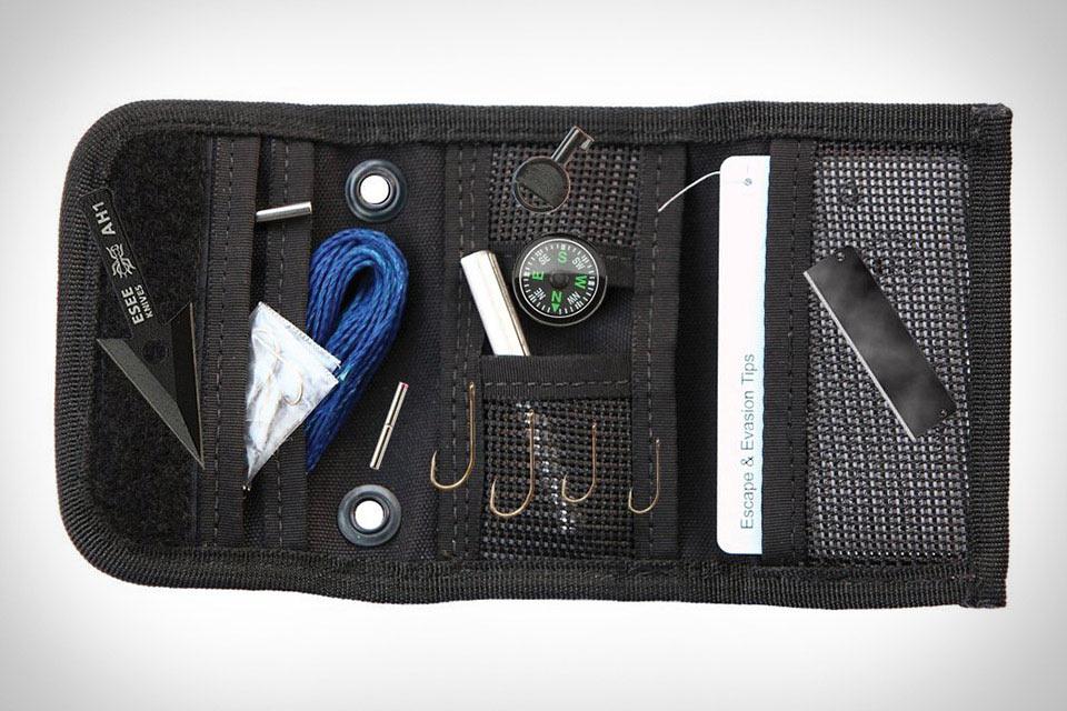 Набор для выживания ESEE Knives Izula Gear Survival KIT в формате кошелька