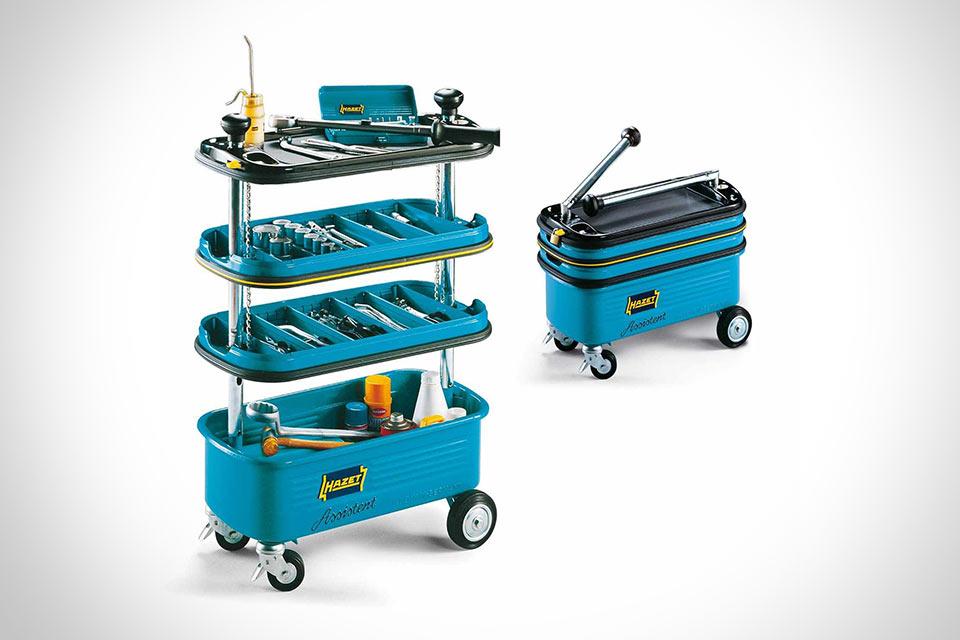 Раскладная телега для инструментов Hazet HZ166N Tool Trolley