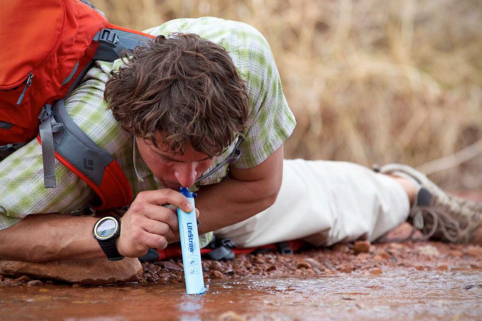 Портативный фильтр для воды LifeStraw Personal