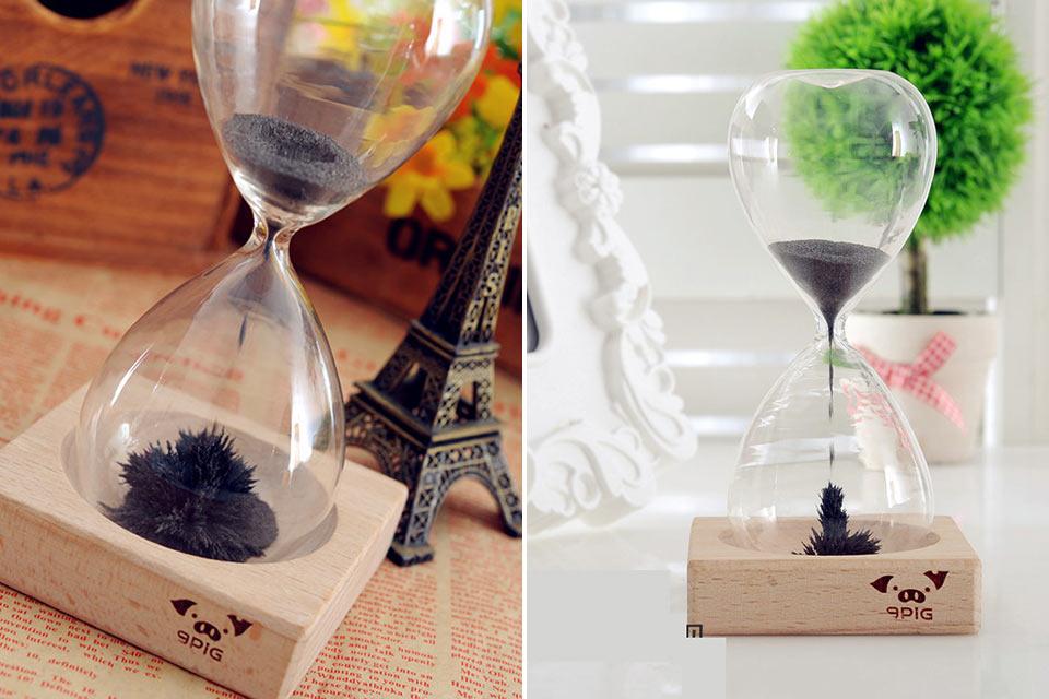 Магнитные песочные часы Magnetic Hourglass