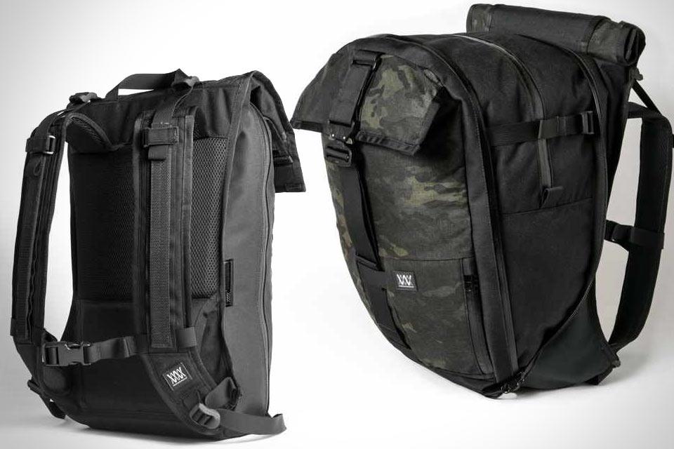 Раздувающийся рюкзак Mission Workshop Cargo Pack