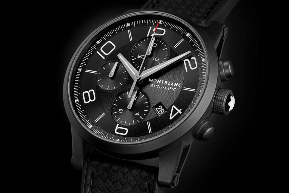 Самые черные часы в мире  Montblanc TimeWalker Extreme Chronograph DLC