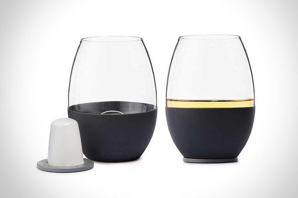 Самоохлаждающийся винный бокал Self Chilling Wine Glass