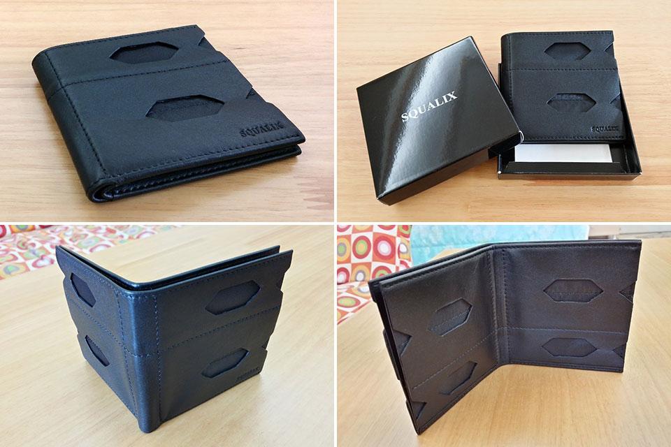 Кошелек Squalix с внешними отделениями для карточек