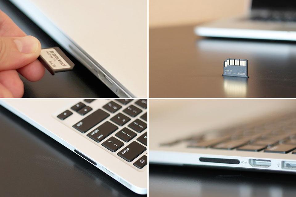 Микронакопитель Transcend JetDrive Lite для MacBook