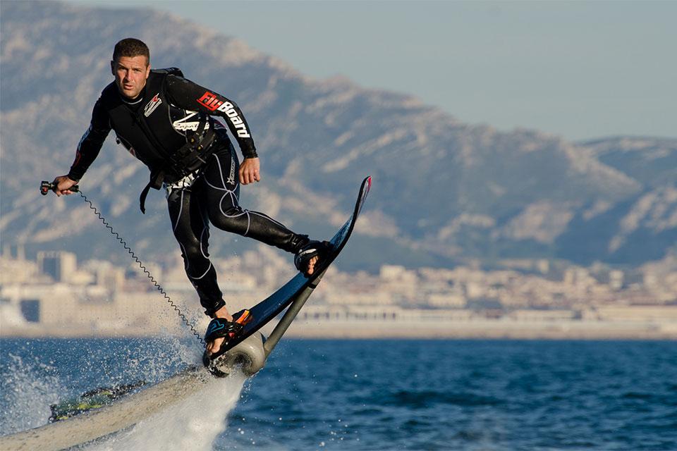 Летающая водная доска Water Hoverboard