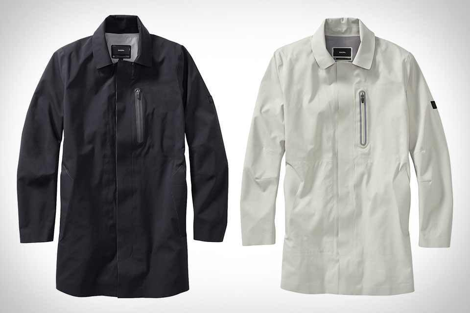 Классический дождевик Isaora Mac Raincoat из высокотехнологичного материала