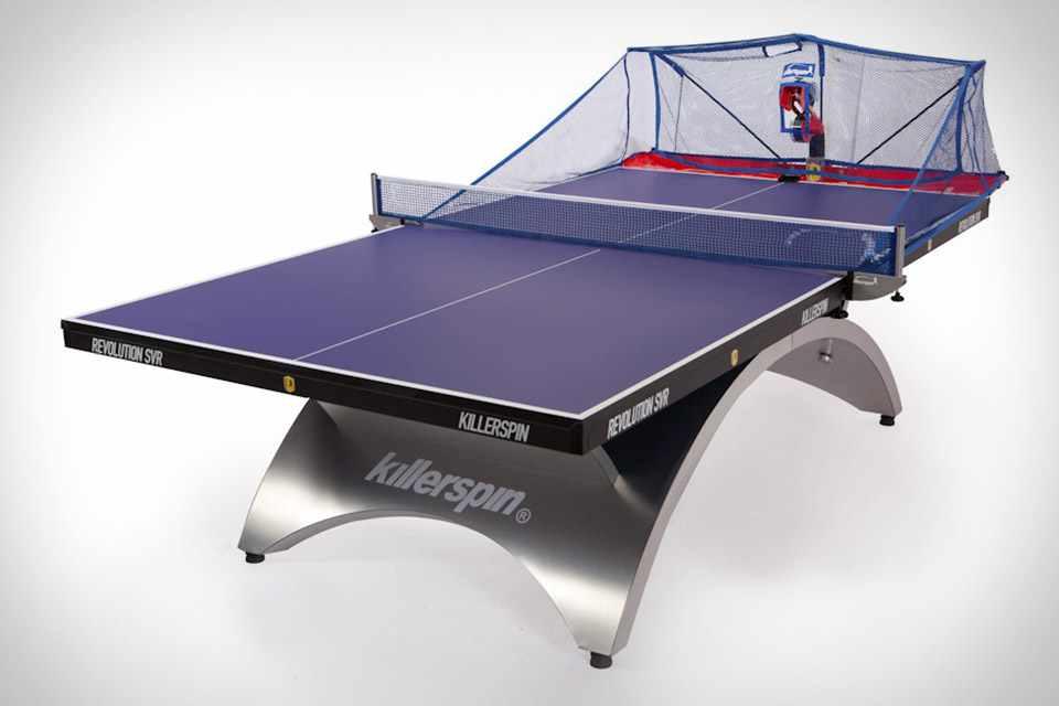 Робот Killerspin Throw II для игры в пинг-понг
