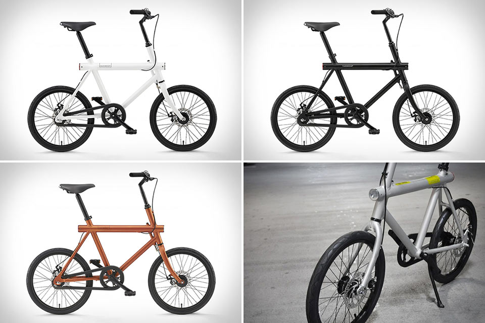 Компактный велосипед Vanmoof T Series