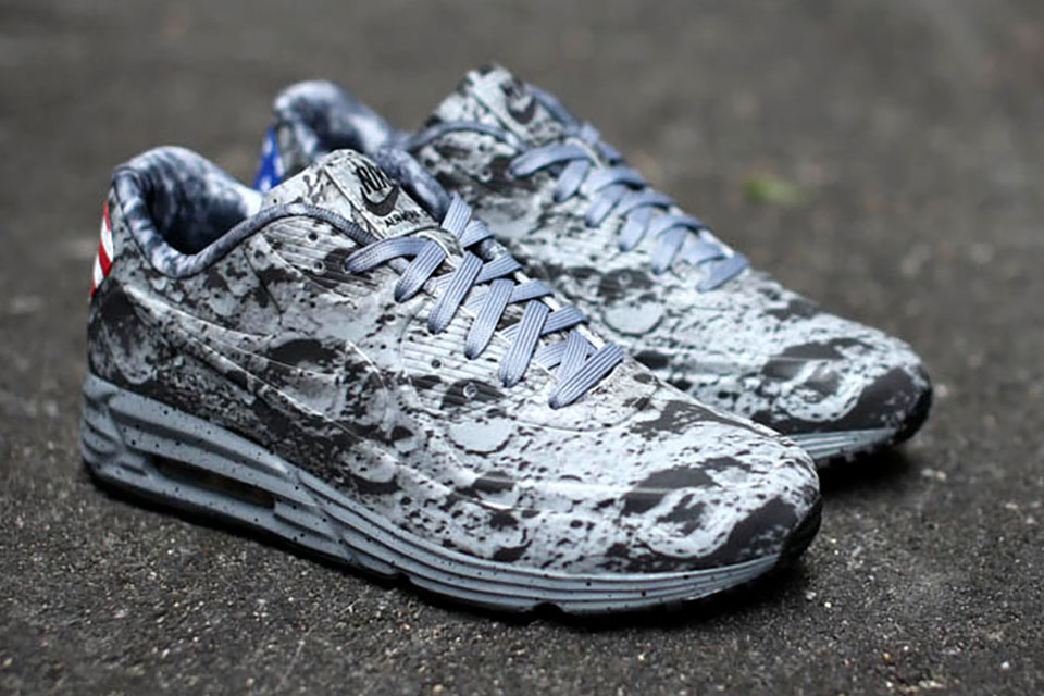 Кроссовки Nike Air Max Lunar90 в честь 45-летия высадки на Луну