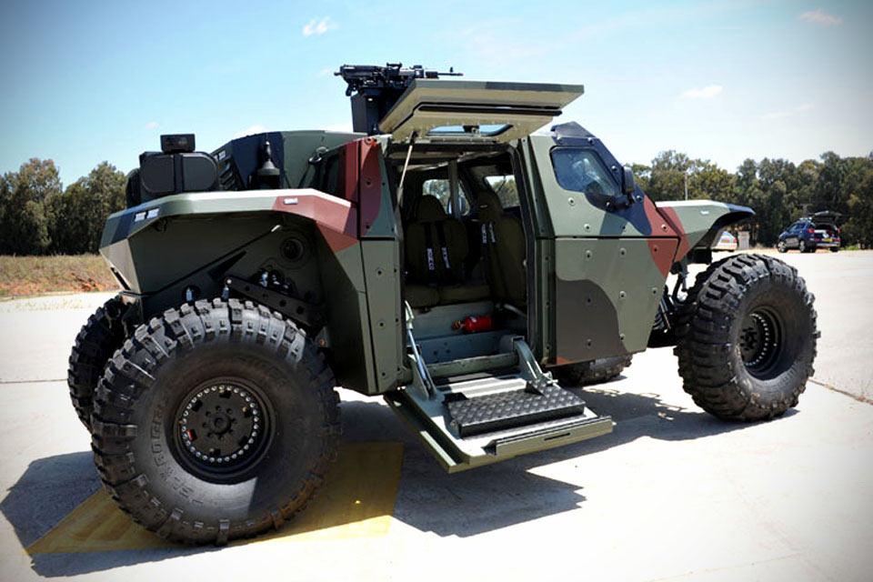 Военный автомобиль Combat Guard AFV из Израиля