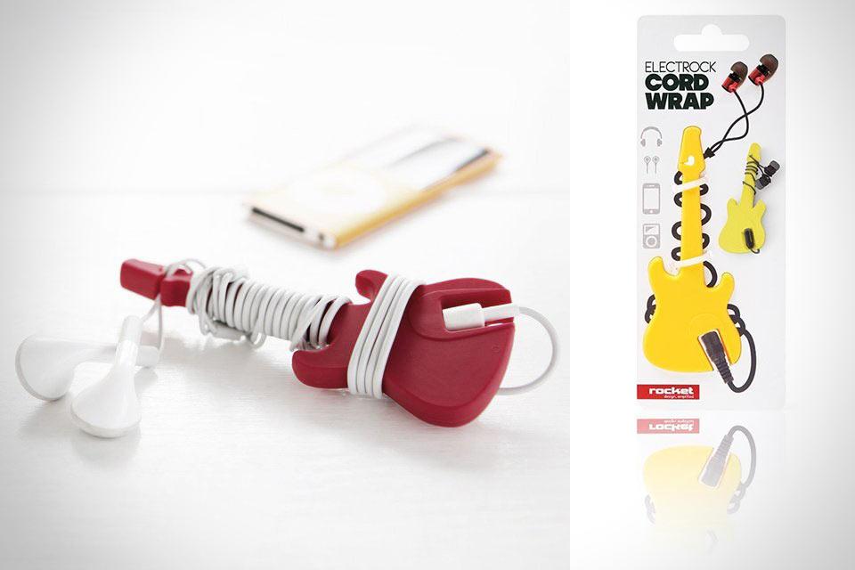 Органайзер для наушников Electrock Cord Wrap в форме электрогитары