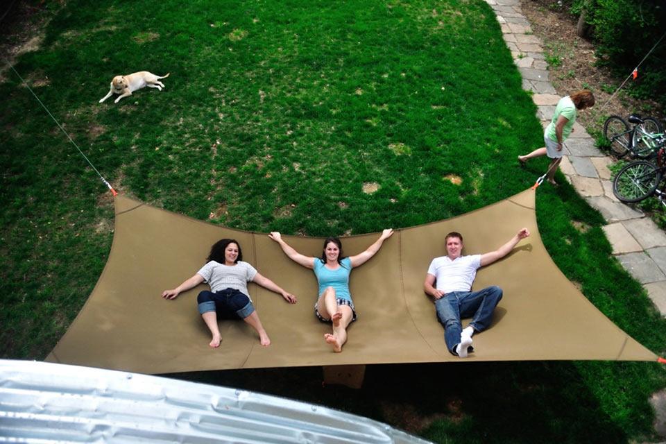 Подборка гамаков для отдыха на природе: подвесные, в виде палаток, кресел и даже для ног