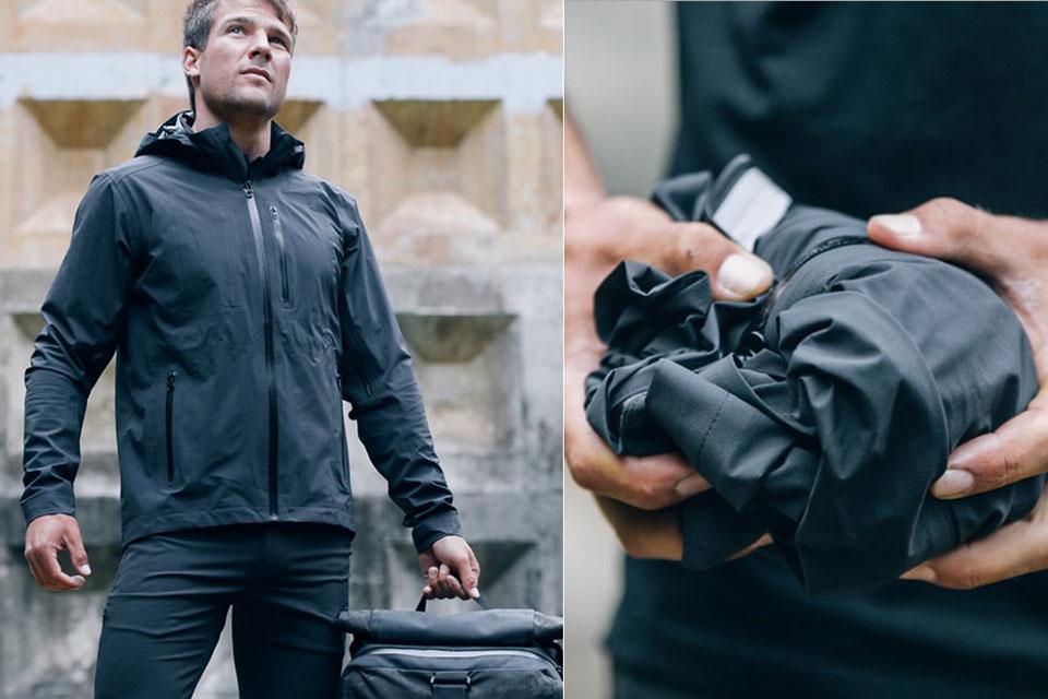 Водонепроницаемая куртка Mission Workshop Orion, которую можно спрятать в карман