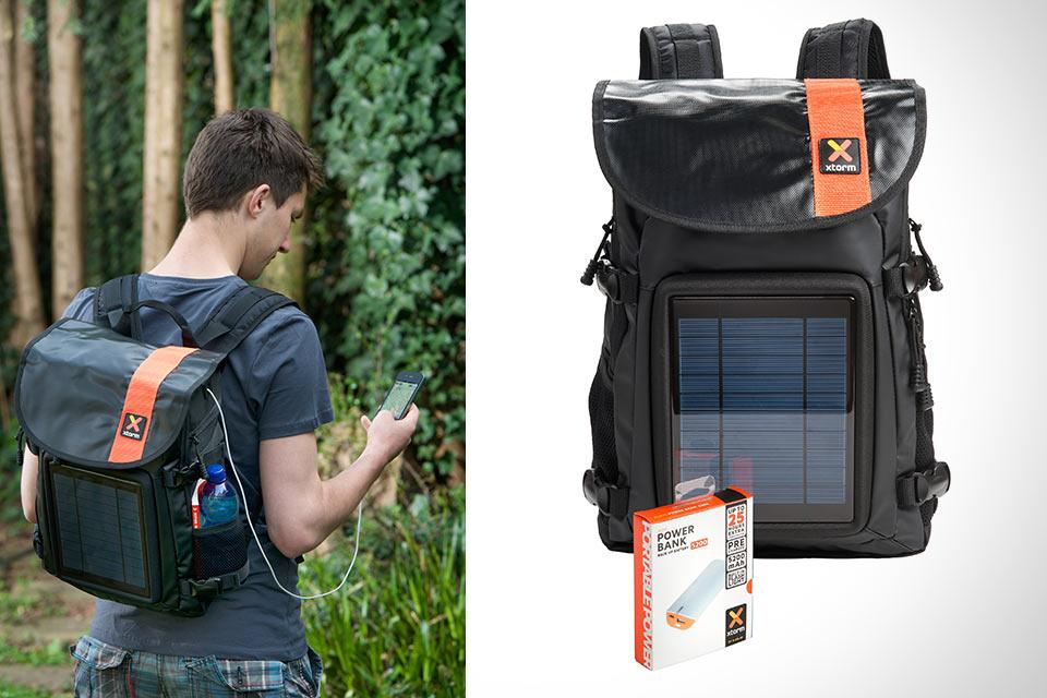 Рюкзак XTORM Solar Helios со встроенной солнечной батареей