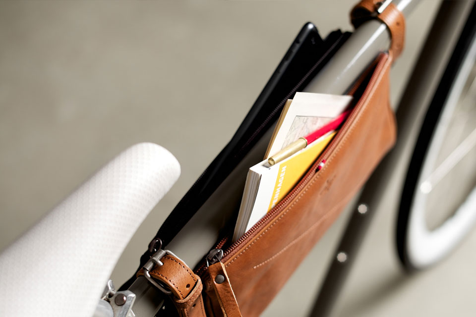 Велосипедные сумки Hard Graft  Framepack и Framefolio