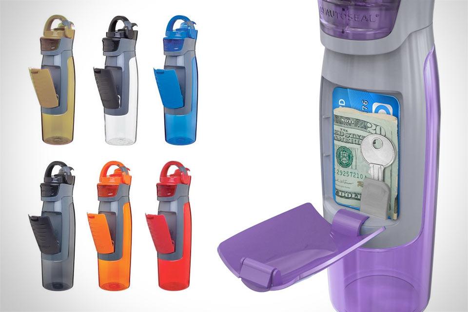 Бутылка для воды Contigo Autoseal Kangaroo с отсеком для хранения мелочевки