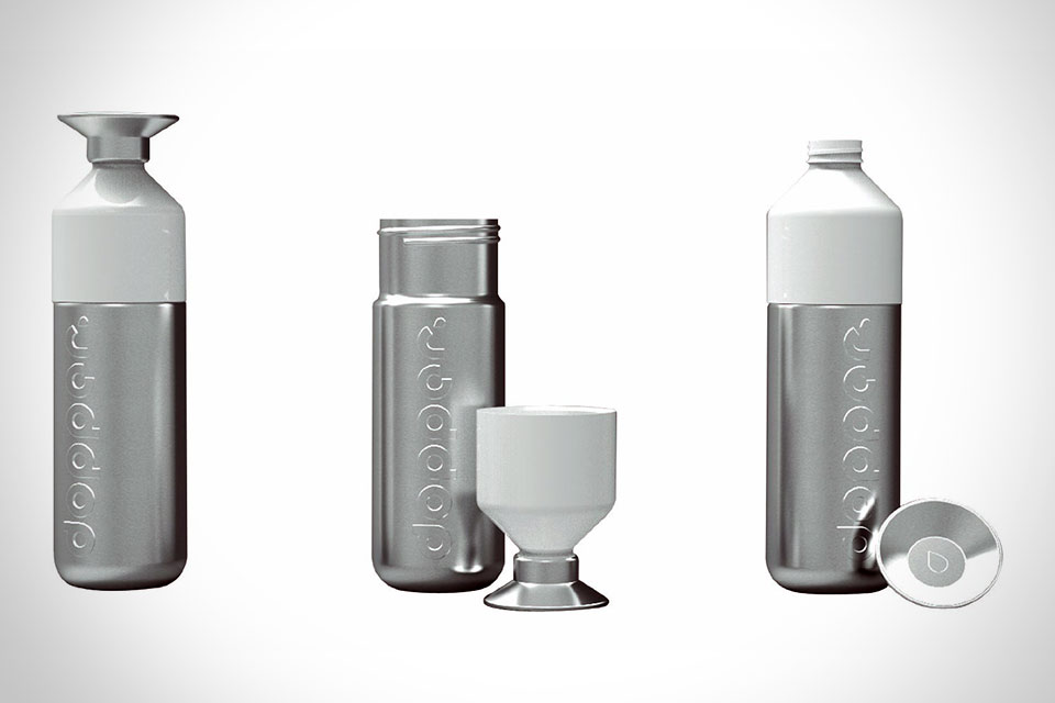 Стальная бутылка для воды Dopper Steel со съемной чашкой