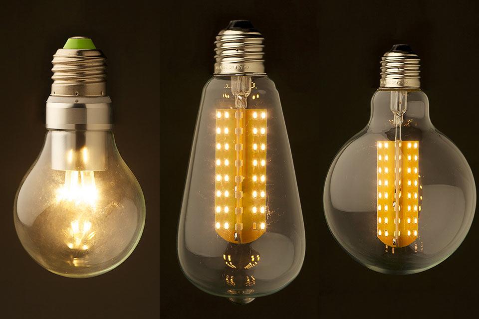 Светодиодные лампочки Edison LED Light в классической форме
