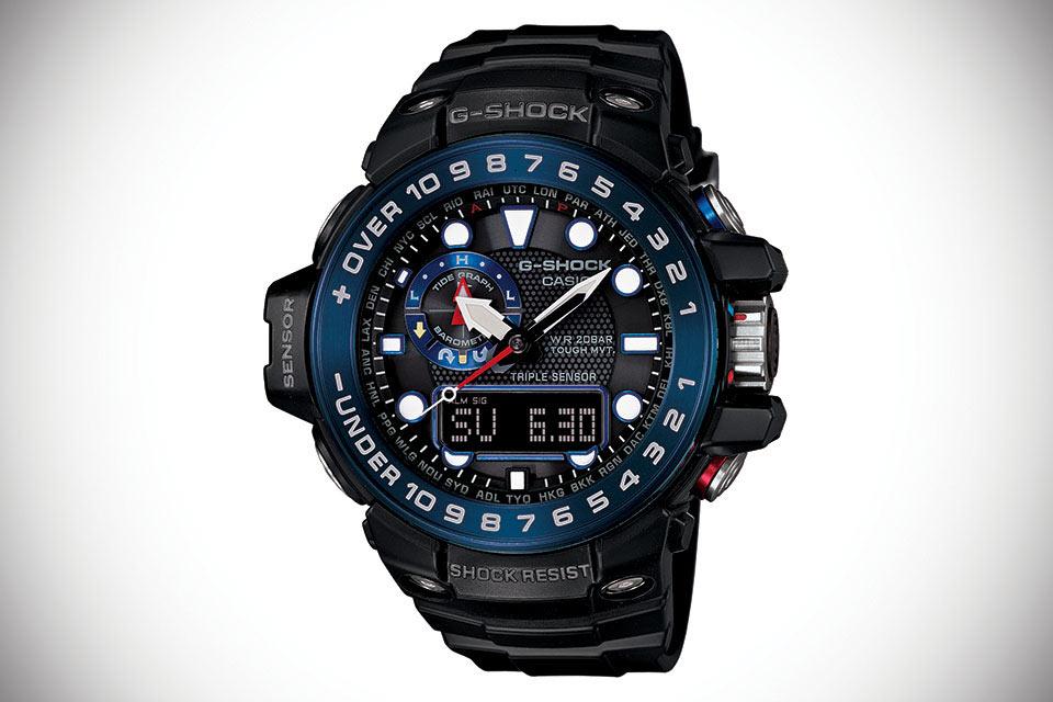 Часы G-Shock Gulfmaster Ocean Concept Watch для океанских путешествий
