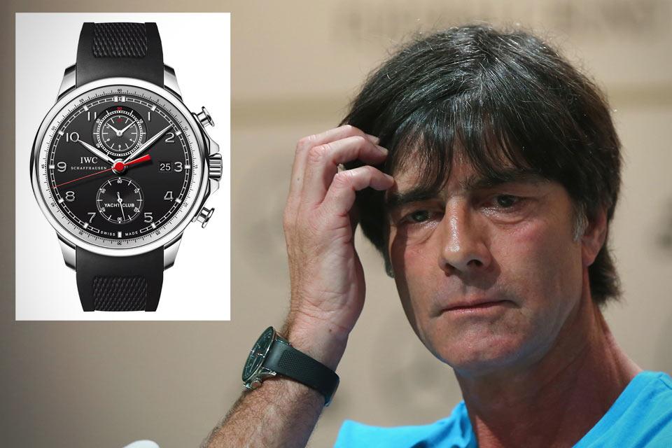 IWC Portuguese Yacht Club Chronograph –часы тренера сборной Германии Йоахима Лёва