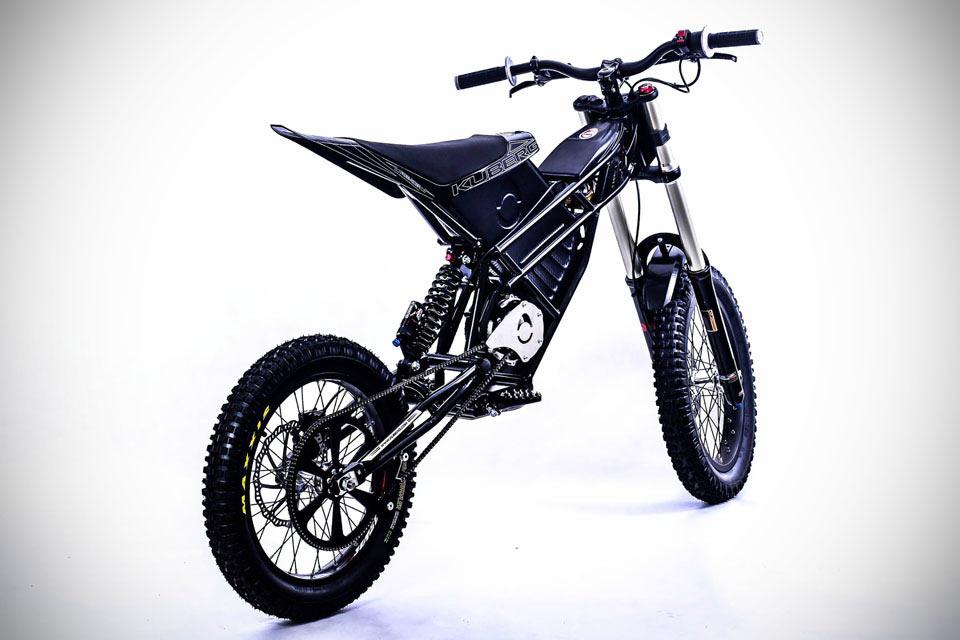 Легкий электроцикл KUBERG Free-Rider для триала и не только