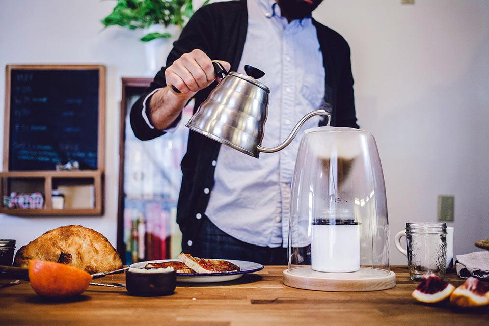 Кофеварка Manual Coffeemaker No1 для тех, кто любит все делать руками