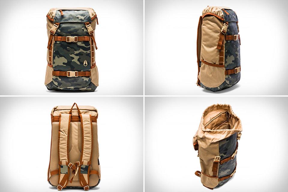 Вместительный и недорогой рюкзак Nixon Landlock II
