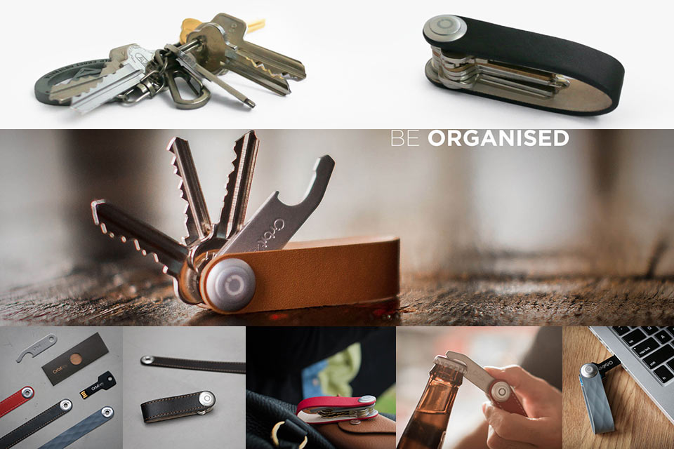 Минималистичный ключник-мультитул Orbitkey