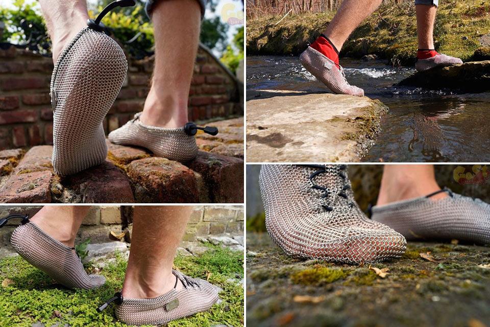Беговые кроссовки PaleoBarefoots из стали