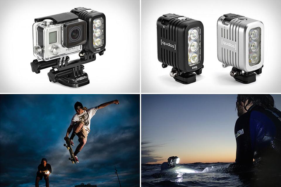 Фонарь Qudos для экшн-камеры GoPro