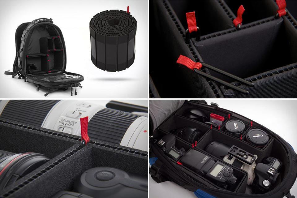 Набор Rollipak для превращения обычного рюкзака в фоторюкзак