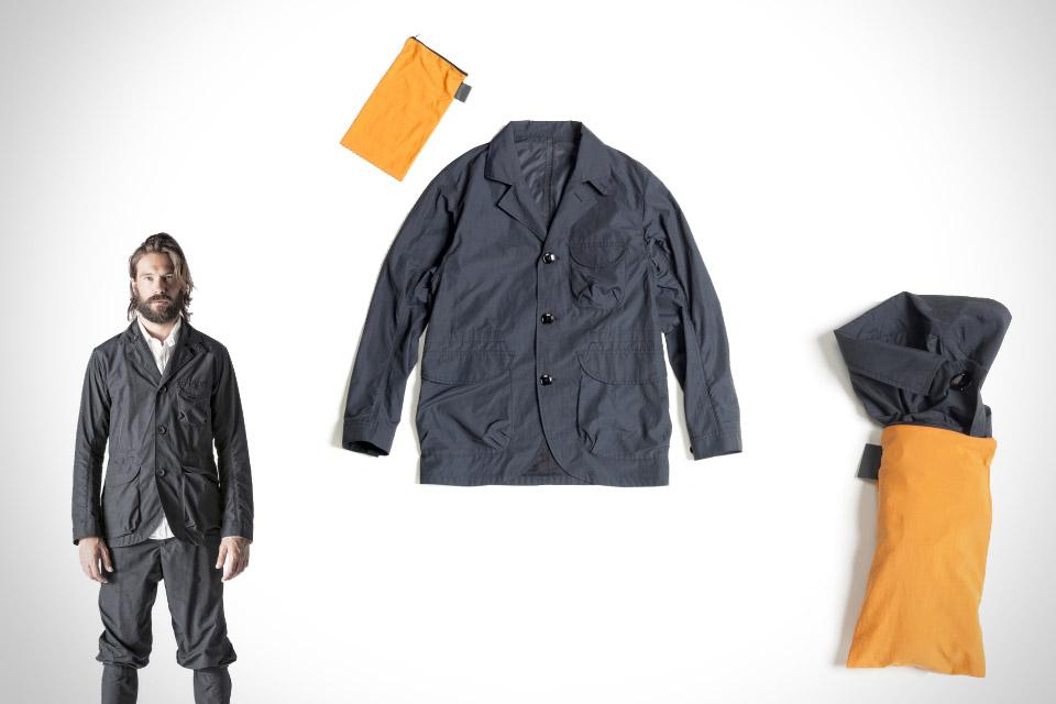 Мини-ветровка Saddle Packable Jacket