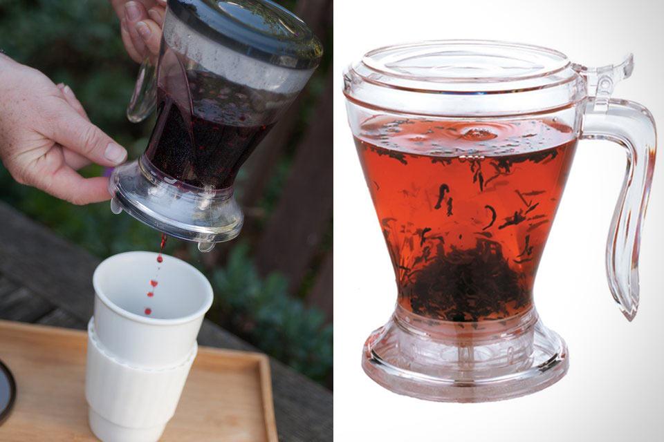 Заварник Teaze Tea Infuser с хитрым клапаном