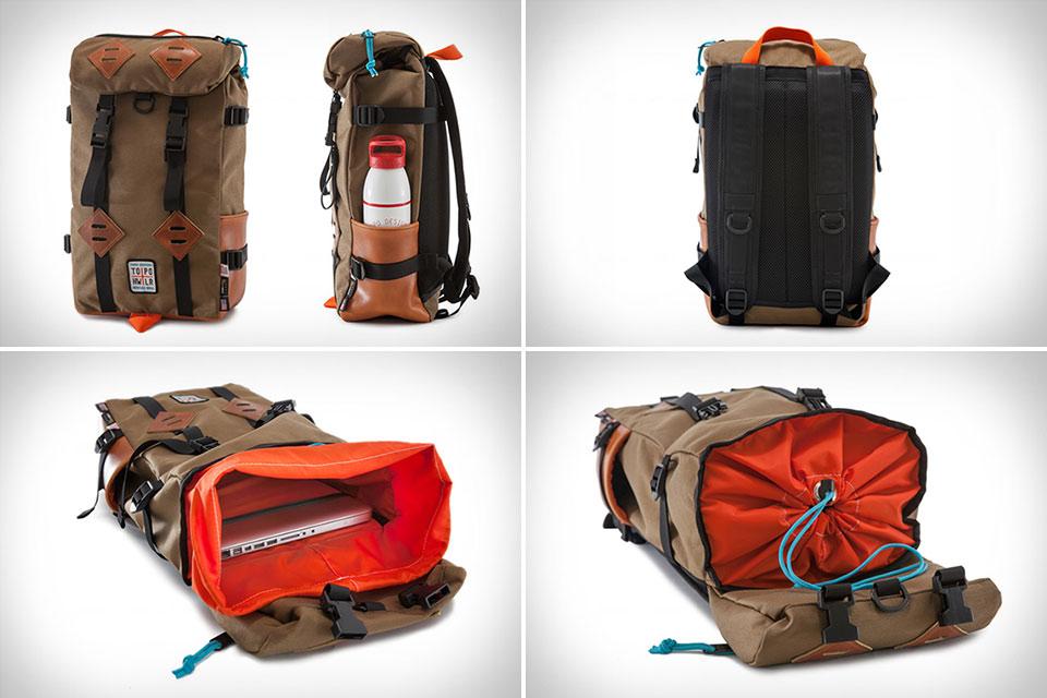 Компактный и продуманный городской рюкзак Topo X Howler Klettersack 15L